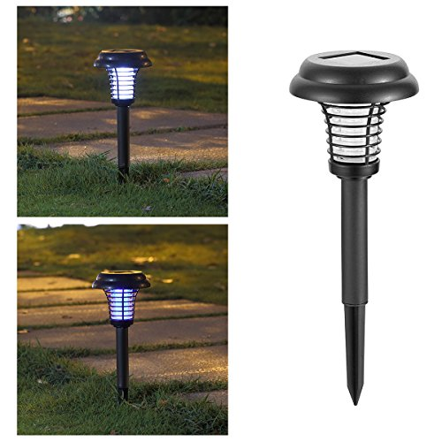 Bug Terminator Dual LED Mosquito And Bug Zapper Light Bulb