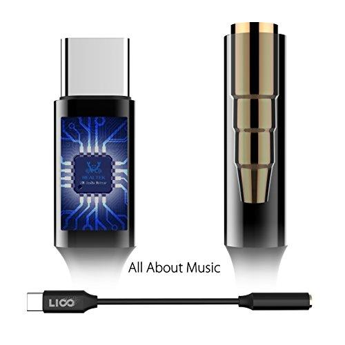 USB C to 3 5mm Pixel 2 / HTC Noise Cancelling Jack External