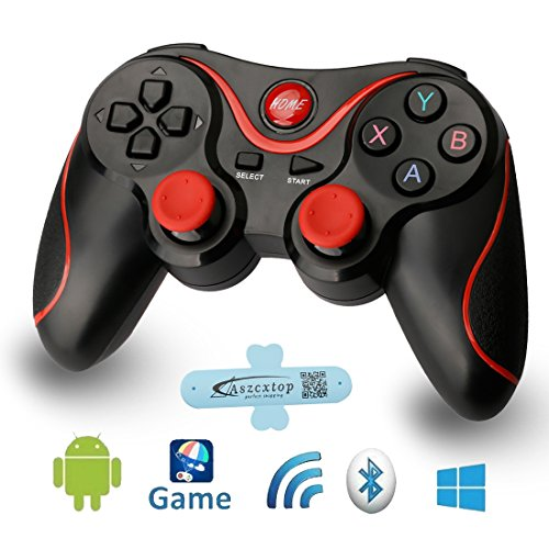 A-szcxtop Android Bluetooth Gamepad wire wireless Rechargeable Game
