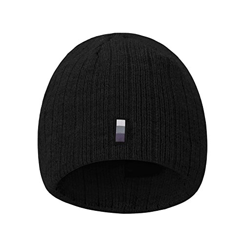 9ab33676709 ... Knit Hat Soft Warm Oversized Skull Cap For Women and Men 5252-3Black.  Choose omechy your excellent choice for Gifts to your friends and family.